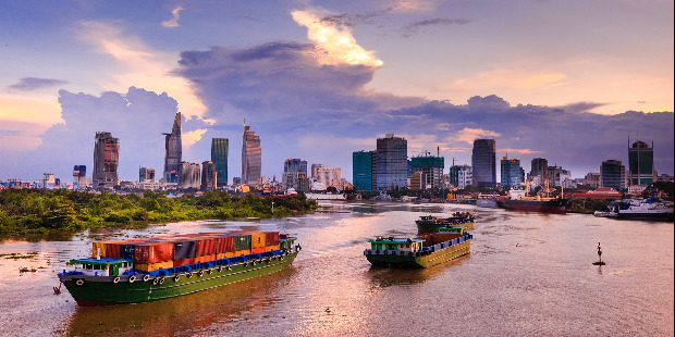 Cheap flights from Kosice Slovakia  to Ho Chi Minh City - Vietnam for only 395 EUR roundtrip.
