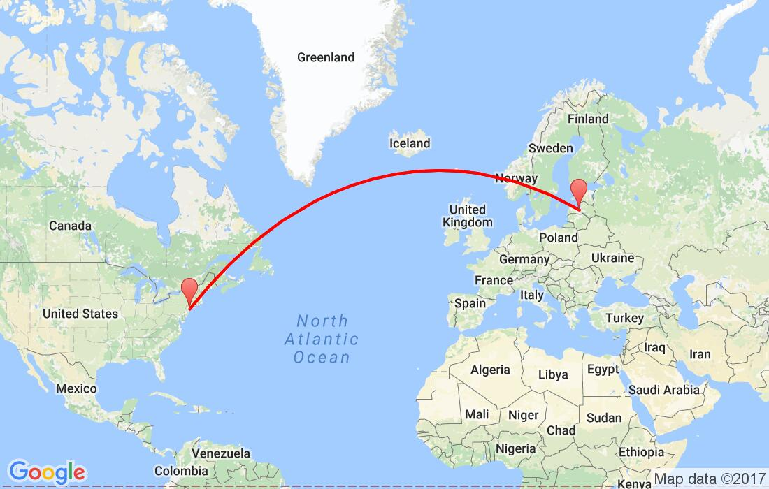 Action Return Flights From Riga To New York United