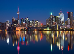 Cheap flights from Madrid Spain  to Toronto - Canada for only 321 EUR roundtrip.