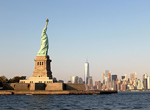 From Copenhagen to New York with open jaw flights with back flight to London. Price starting only on 272 EUR