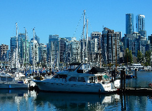 Cheap flights from Vilnius Lithuania  to Vancouver - Canada for only 296 EUR roundtrip.